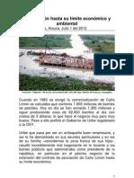 Caño Limón hasta su límite económico y ambiental