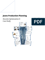 Jeans Production Planning- Group 2