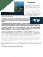5 Different Volcanoes in the Phillipines