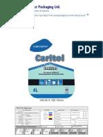 Caritol Front Back Label