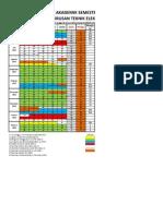 Kalender AKAD GASAL 2012-2013