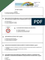 Test Profesor de Formación Vial - Fase previa