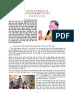 Âm nhạc Phật giáo-Giáo sư Trần Văn Khê