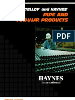 Haynes Tubular Products