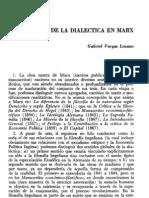 Vargas Lozano, G. - Los sentidos de la dialéctica en Marx [Dialéctica, nº 4, 1978]