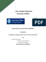 MC Final Dissertation