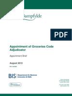 Appointment Brief GCA