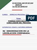Formas especiales de conclusión del proceso, 13-08-12, 20-08-12