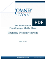 Romney Energy Policy White Paper 8.23