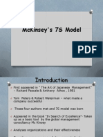McKinsey's 7S Model- Final