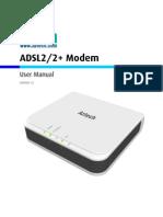 User Manual DSL605E