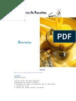 [CulináRia] Livro de Receitas - Sorvete