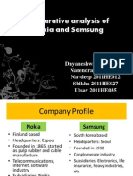 Group 3 Nokia vs Samsung