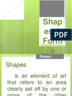 """""""Shapes and Forms"""" Humanities"""