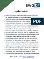 swabr Anwendungsbeispiele DE