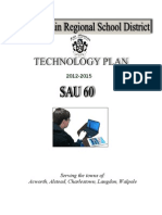 FMRSD Technology Plan 2012-2015