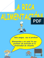 A La Rica Alimentacion!(MULTIMEDIA SONIA)