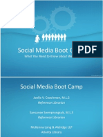 Social Media Boot Camp-CLE