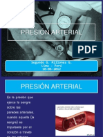 Presion Arterial 18-06-12