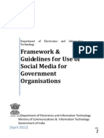 Social Media Framework and Guidelines