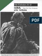 Historische Tatsachen - Nr. 12 - Udo Walendy - Das Recht in Dem Wir Leben (1982, 40 S., Scan-Text)