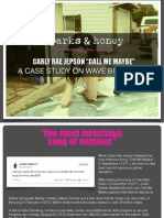 """Call Me Maybe"" Wave Branding Case Study by sparks & honey"