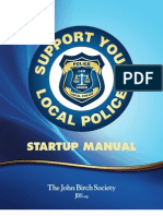 Support Your Local Police Start Up Manual
