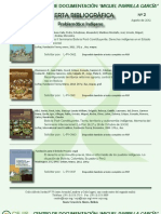CEJIS Alerta Bibliográfica Agosto 2012