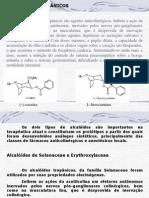 Alcaloides Tropanicos