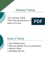 Formal Software Testing381