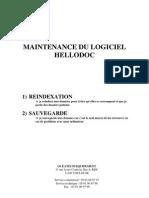Maintenance Du Logiciel Hellodoc