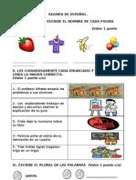 EXAMEN final y de diagnóstico de primero 2010.