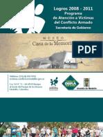 Publicación especial balance 2008-2011
