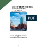 REALTORS® Confidence Index July