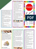 Brochure sobre Acoso Escolar