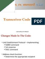 Transceiver Code TX Rx Merged v2.0