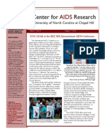 August 2012 CFAR Newsletter - International AIDS Meeting in DC