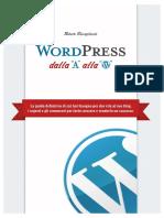 Wordpress Dalla A alla W - anteprima
