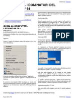 Guida al Computer - Lezione 64 - Il Sistema Operativo
