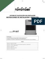 Manual Toyotomi