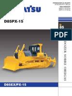 D85EX_PX-15 Komatsu Tractor