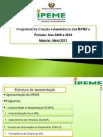 Apresentacao IPEME 24.05.2012
