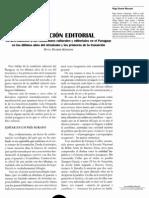 Hugo Duarte Manzoni, La condición editorial