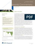 Weekly Economic Commentary 8/23/2012