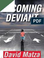 Becoming Deviant Matza,D.