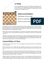 Chess Rules General