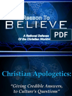 Why Do Apologetics