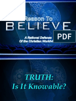 Truth, Is It Knowable