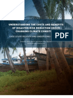 Understanding the Costs and Benefits of Disaster Risk Reduction Under Changing Climate Conditions - Case Study Results and Underlying Principles, Fawad Khan Et Al.