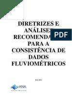 Diretrizes Analises Recomendadas Consistencia de Dados Fluviometricos